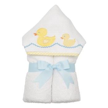 3 Marthas - Hooded Towel - Yellow Duck