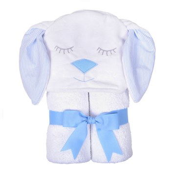 3 Marthas - Hooded Towel - Blue Bunny