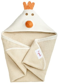 3 Sprouts - Hooded Towel - Chicken