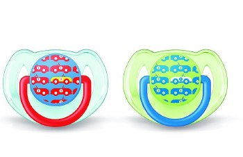 Avent - Free Flow Pacifier 6-18 Cars