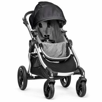 Baby Jogger - City Select Stroller Seat - Gray/Black