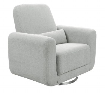 Babyletto - Tuba Extra Wide Swivel Glider Winter Grey Weave