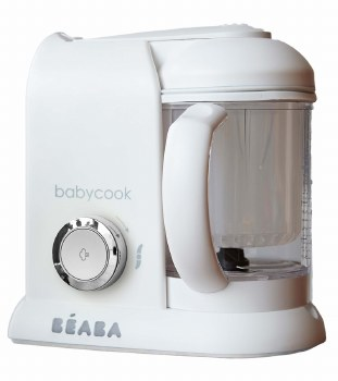 Beaba - Babycook Pro Baby Food Blender and Steamer - White