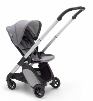 Bugaboo - Ant Complete Stroller Aluminum - Grey Melange