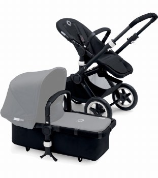 Bugaboo - Buffalo Frame with Foam Handle - Black/Black