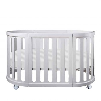 Cocoon Furniture - Nest 4-in-1 Crib and Bassinet Complete System - White *Backorder*