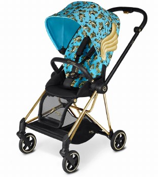 Cybex -  Mios Complete Special Edition Stroller Jeremy Scott - Cherub Blue