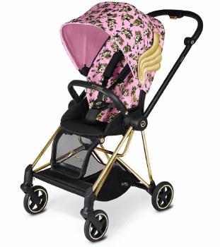 Cybex -  Mios Complete Special Edition Stroller Jeremy Scott - Cherub Pink