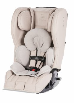 Diono - Rainier 2 AXT Prestige Leather All-in-One Convertible Car Seat - Beige Oyster