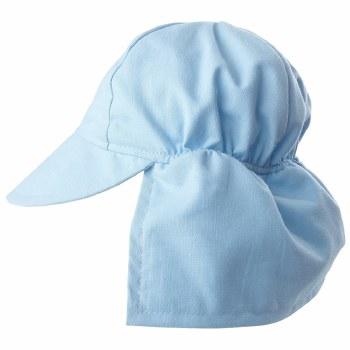 Flap Happy - UPF 50+ Swim Flap Hat - Blue Small