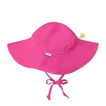 I Play -  Brim Sun Hat Hot Pink 0-6mth