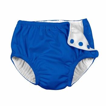 I Play -  Snap Reusable Swim Diaper - Royal Blue 6M