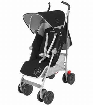 MaClaren -  Techno Xt Stroller Black/Sliver