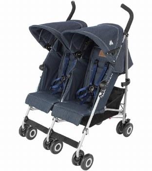 MaClaren -  Twin Triumph Stroller Denim