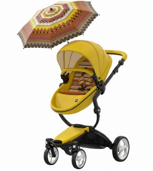 Mima - Xari Complete Stroller Limited Edition - Yellow