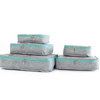 Mumi - Packing Cubes 5 Piece Set - Aqua