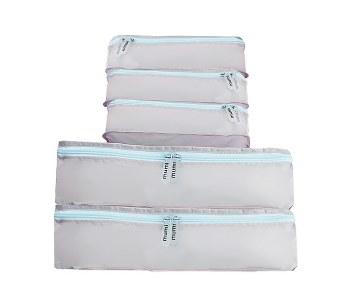 Mumi - Packing Cubes 5 Piece Set - Light Blue
