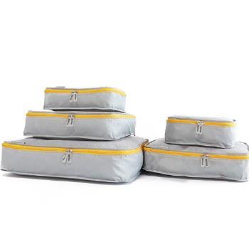 Mumi - Packing Cubes 5 Piece Set - Yellow