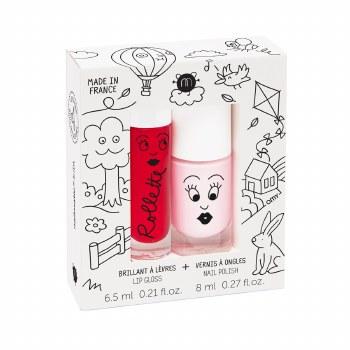 Nailmatic - Kids Lip Gloss & Nail Polish Set - Kids Cottage