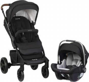 Nuna - 2019 Tavo Stroller and Pipa Lite Car Seat Travel System - Caviar