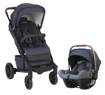 Nuna - Tavo Stroller and Pipa Lite Car Seat Travel System - Aspen