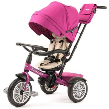 Bentley - Bentley 6-in-1 Stroller/Tricycle -  Fuchsia Pink *Backorder*