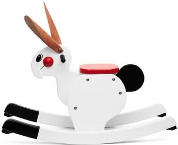 Playsam - Rocking Rabbit -  White