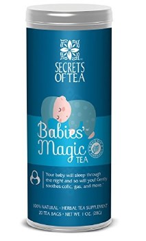 Secrets of Tea - Organic Maternity Teas - Babies' Magic Tea