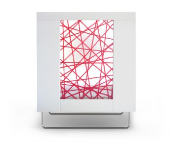 Spot On Square - Alto Crib - Red Strands