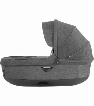 Stokke - Crusi/Trailz Carrycot - Black Melange