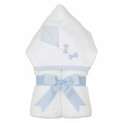 3 Marthas - Hooded Towel - Blue Kite