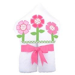 3 Marthas - Hooded Towel - Flower