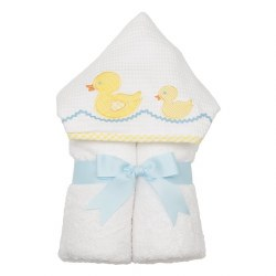 3 Marthas - Hooded Towel - Yellow Duck