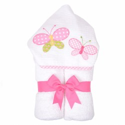 3 Marthas - Hooded Towel - Butterfly