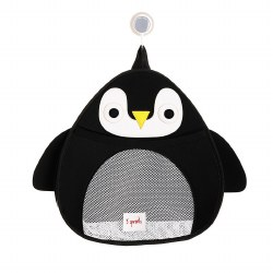 3 Sprouts - Bath Storage - Penguin Black