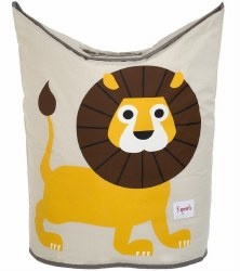 3 Sprouts - Laundry Hamper - Lion Yellow