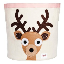 3 Sprouts - Storage Bin - Deer Brown