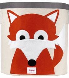 3 Sprouts - Storage Bin - Fox Orange