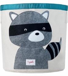 3 Sprouts - Storage Bin - Raccoon Grey