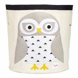3 Sprouts - Storage Bin - Snowy Owl White