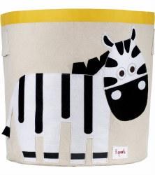3 Sprouts - Storage Bin - Zebra Black & White