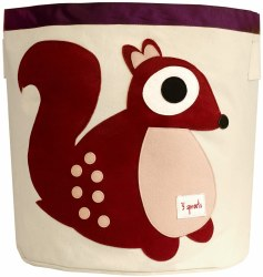 3 Sprouts - Storage Bin - Squirrel