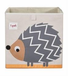 3 Sprouts - Storage Box - Hedgehog Grey