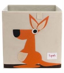 3 Sprouts - Storage Box - Kangaroo Orange