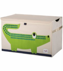 3 Sprouts - Toy Chest - Crocodile Green