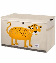 3 Sprouts - Toy Chest - Leopard Orange