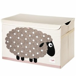 3 Sprouts - Toy Chest - Sheep Beige