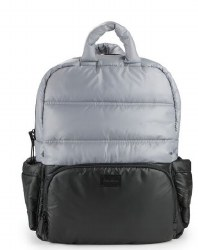 7AM - BK718 Backpack - Black/Cement