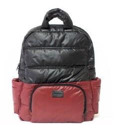 7AM - BK718 Backpack - Boardeaux/Black