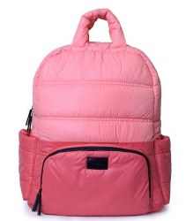 7AM - BK718 Backpack - Candy/Coral